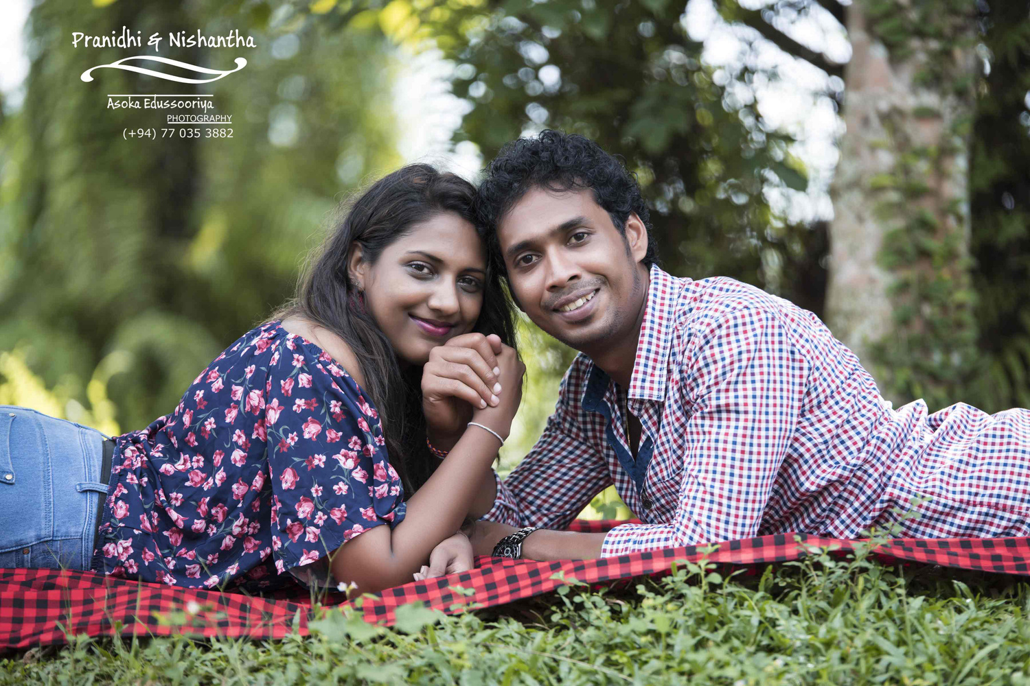 Engagement shoot by Asoka Edussooriya