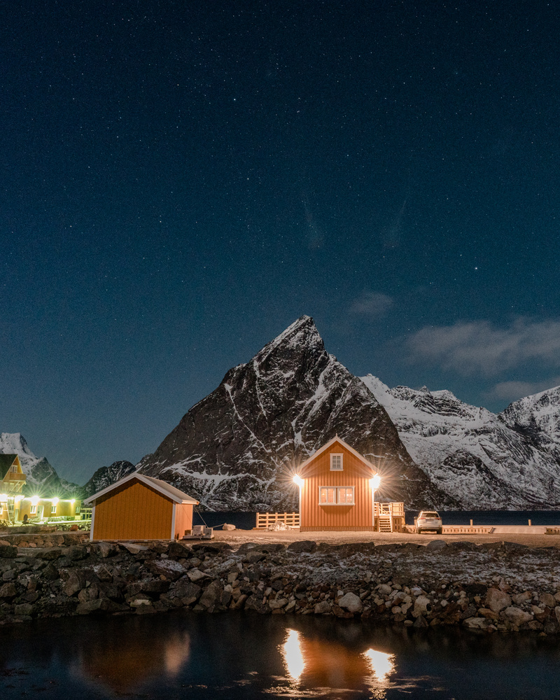 Little Yellow Cabin by Nick Collins