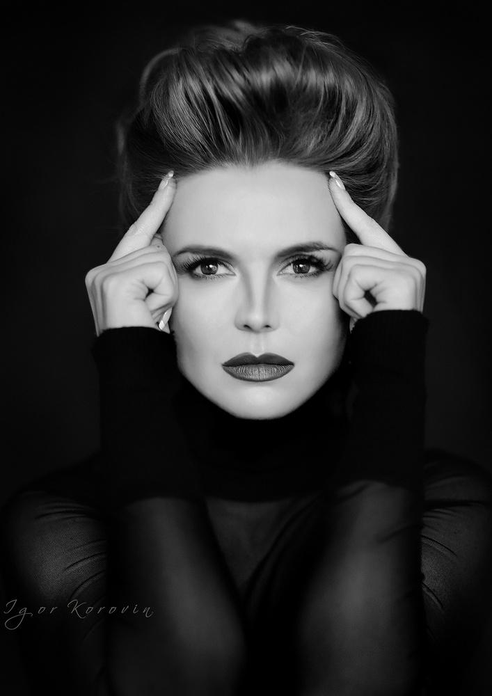 Portrait by Igor Korovin