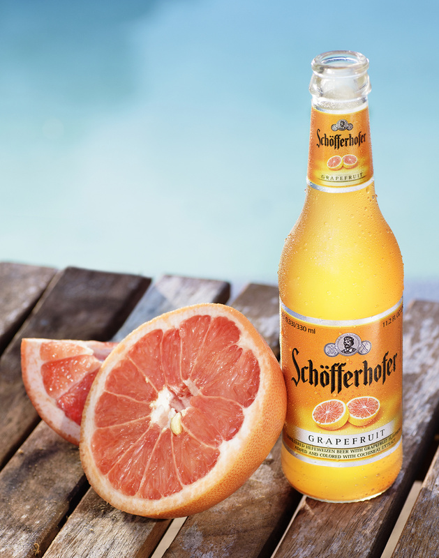 Schofferhofer Grapefruit Beer by Austin Burke