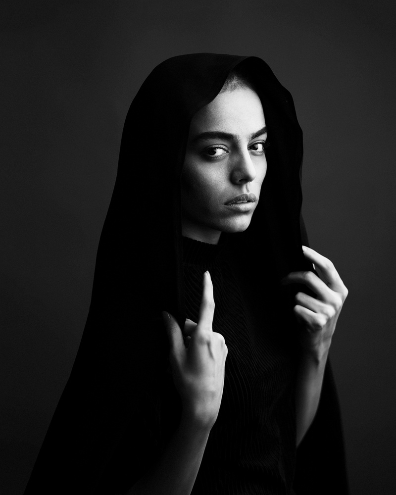 Black veil by Hamidreza Sheikhmorteza