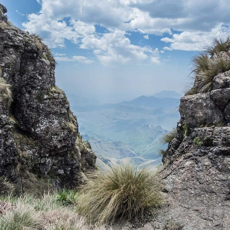 Drakensberg View by Novak Miler