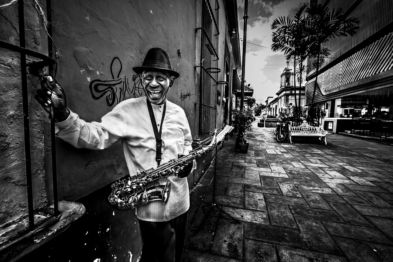 The Jazzman  by René Serrano Rodríguez