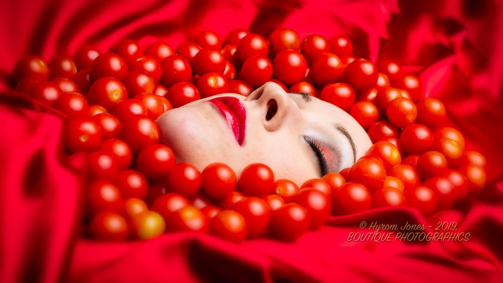 """CHERRY TOMATO"" by Hyrom Jones Boutique Photographer."