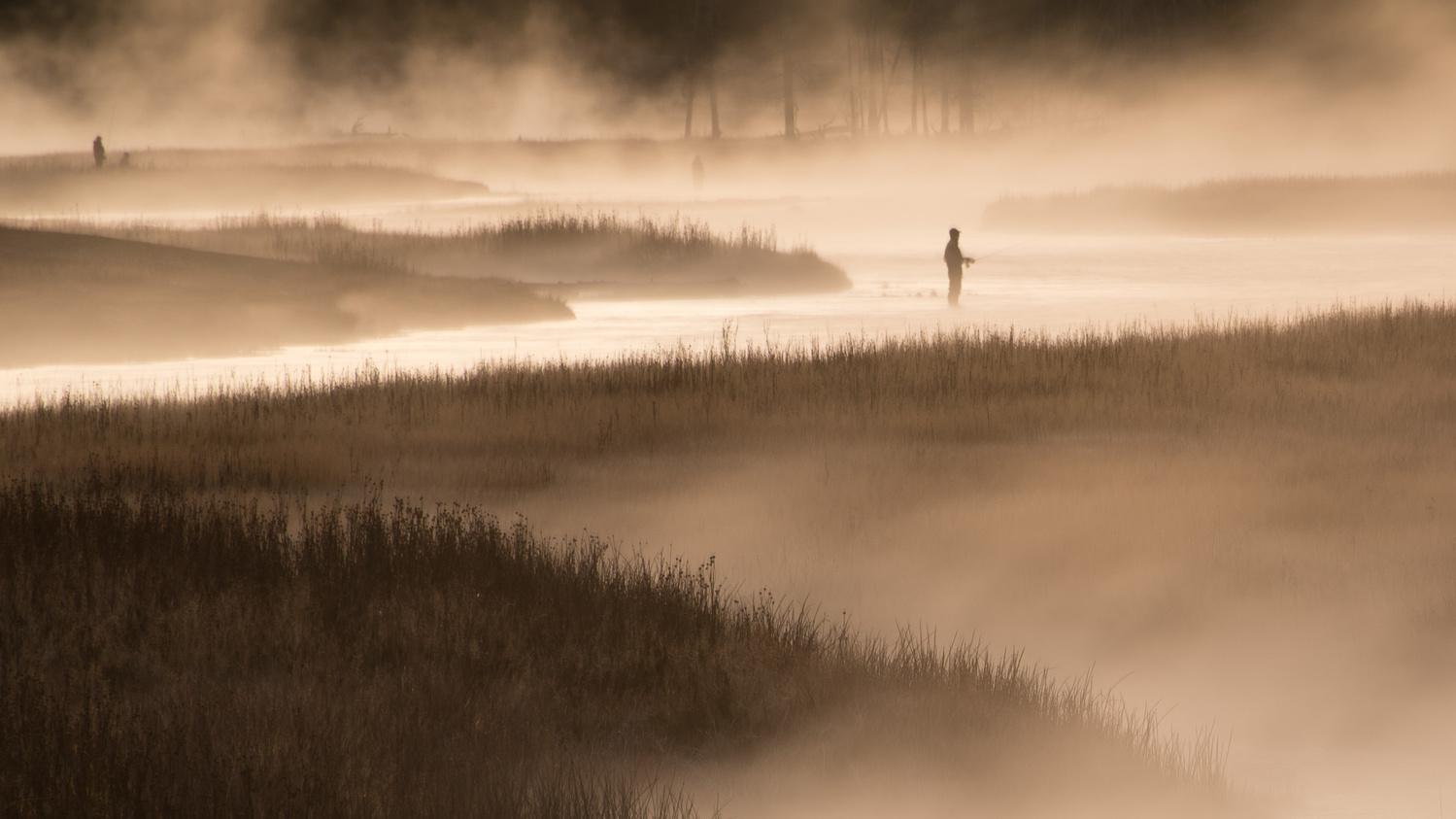 Dawn Fishing by Mark Warnes
