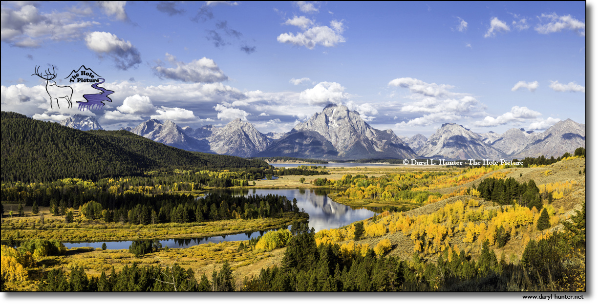 Oxbow from above by Daryl Hunter