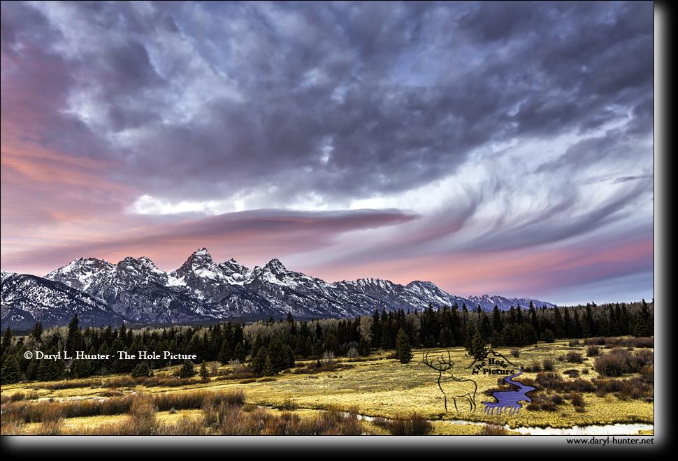 Grand Teton Sunset by Daryl Hunter