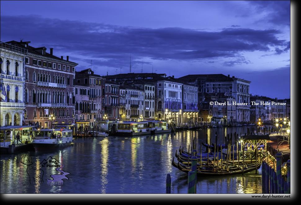 Blue Hour Venice by Daryl Hunter
