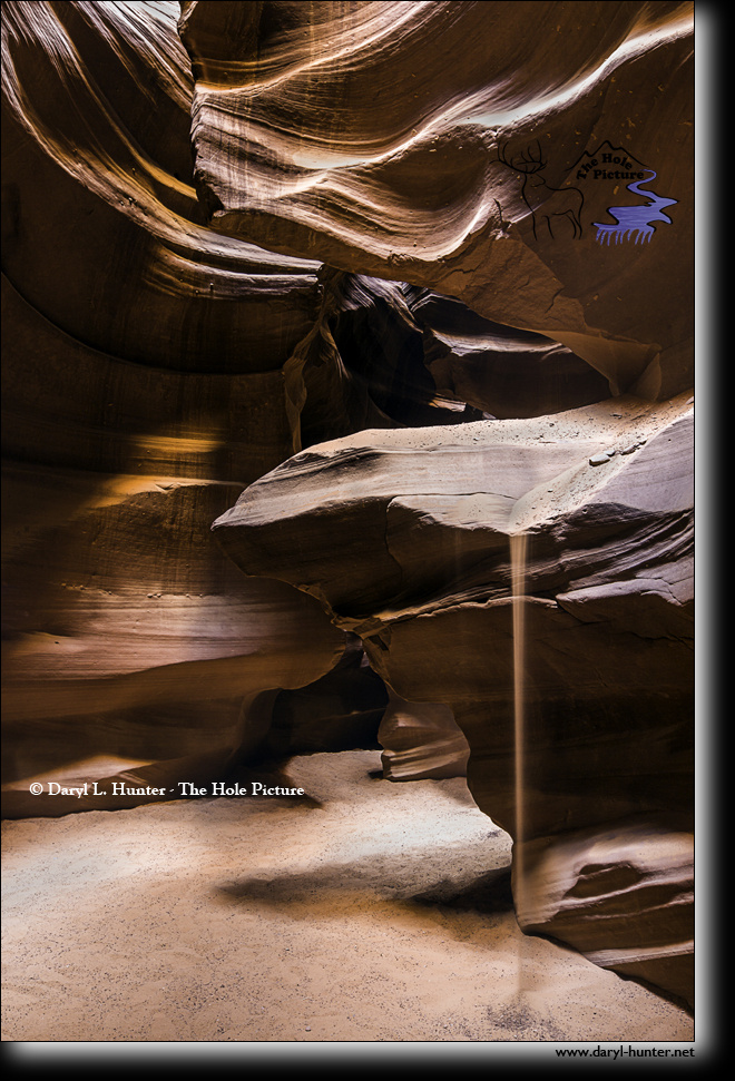 Sands of Time, Antelope Canyon by Daryl Hunter