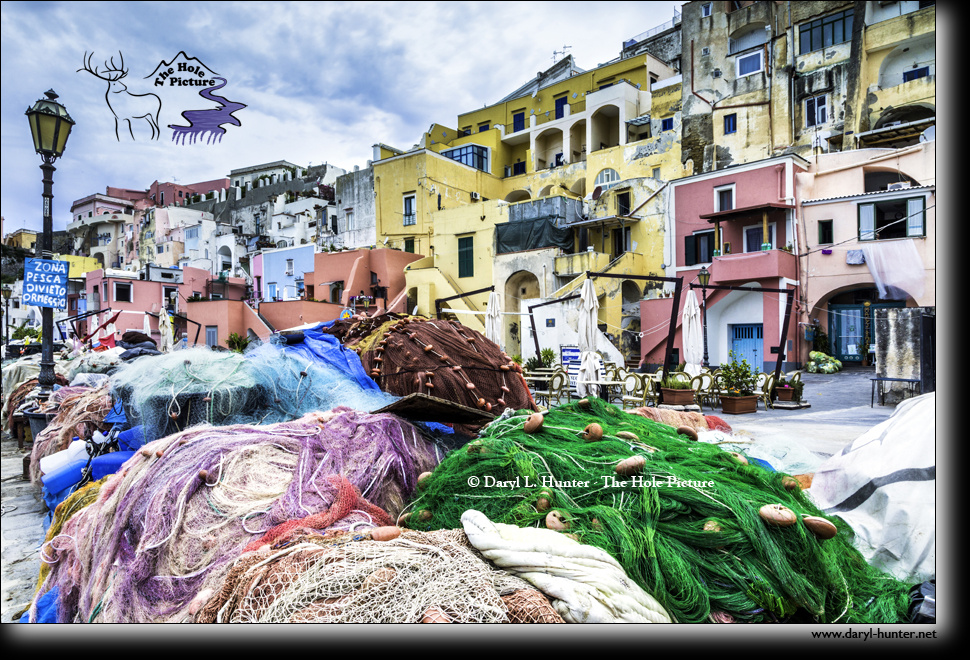 Colorful Procida by Daryl Hunter