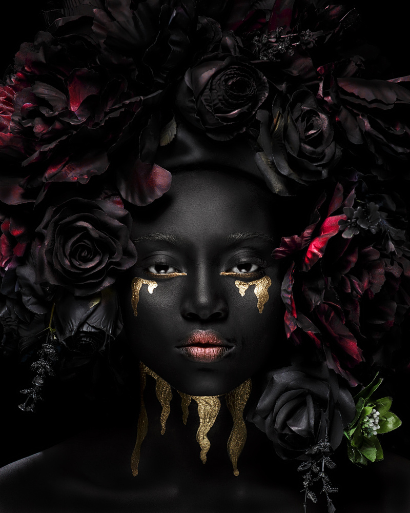 Goddess of love by Gilbert Asante