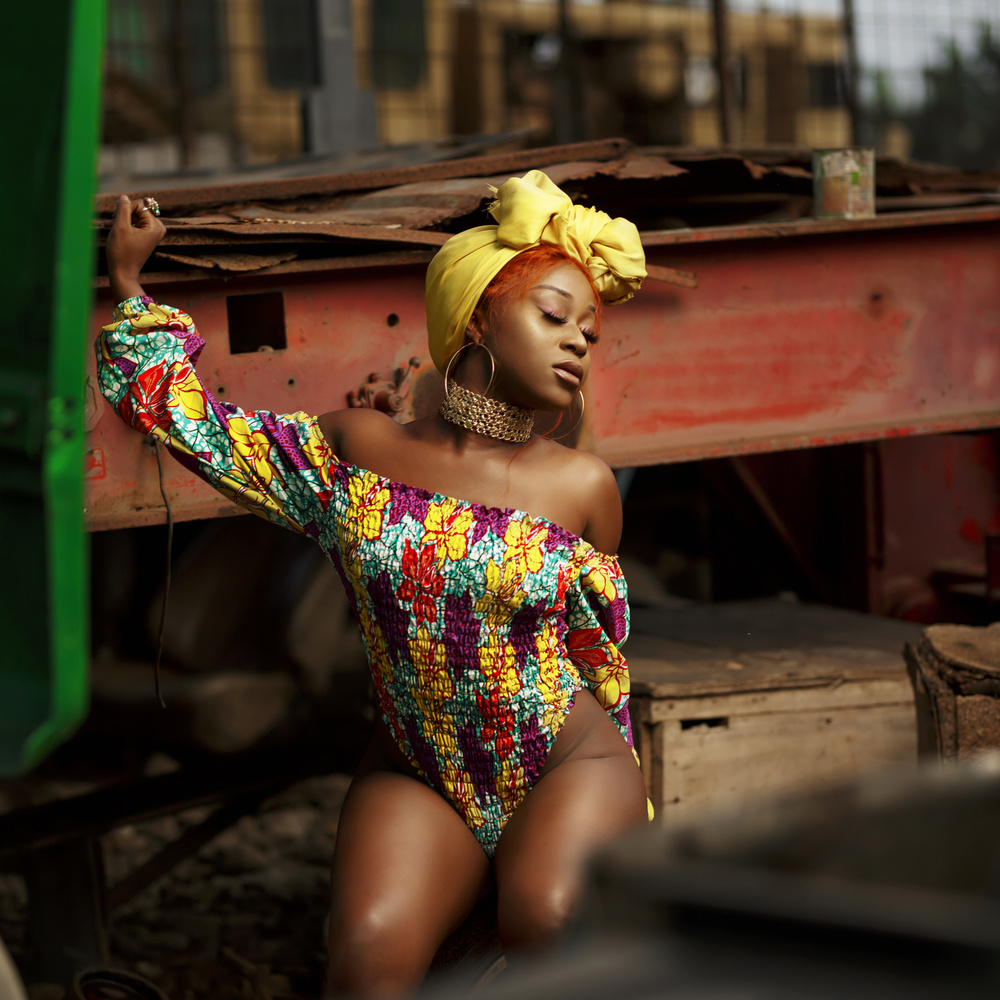 The African Queen  by Gilbert Asante