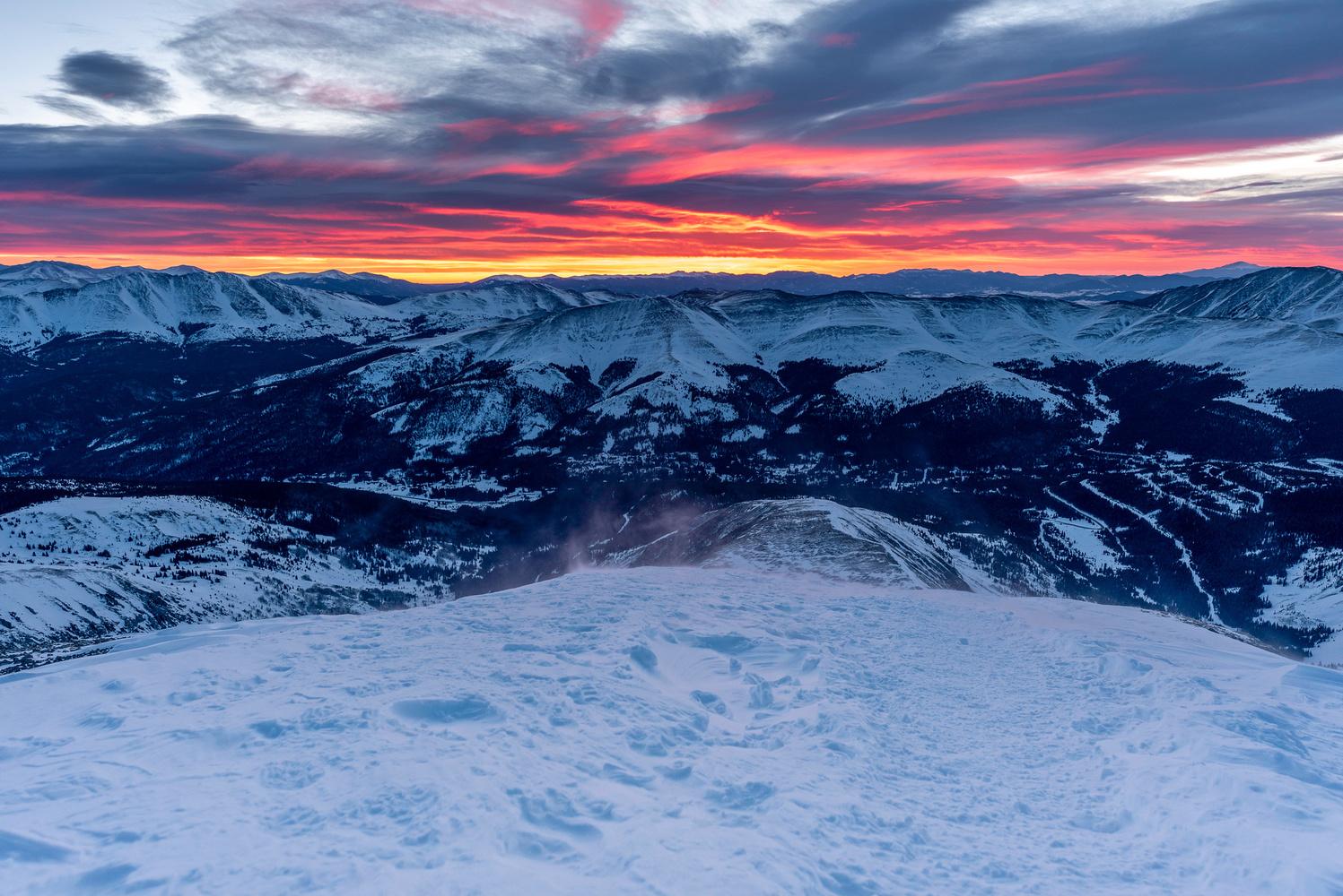 Summit Sunrise by Dave Spates