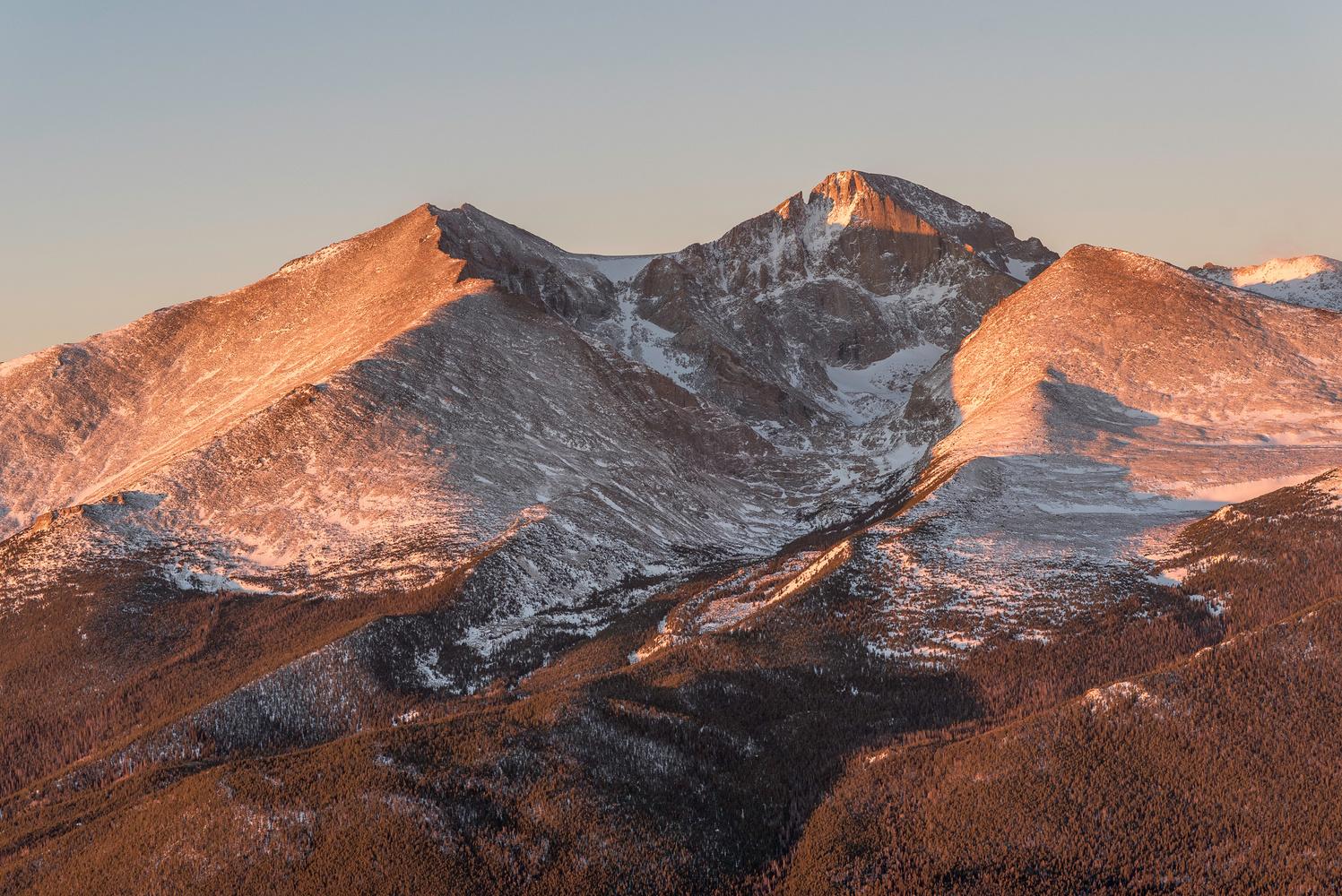 Longs Peak, Colorado by Dave Spates