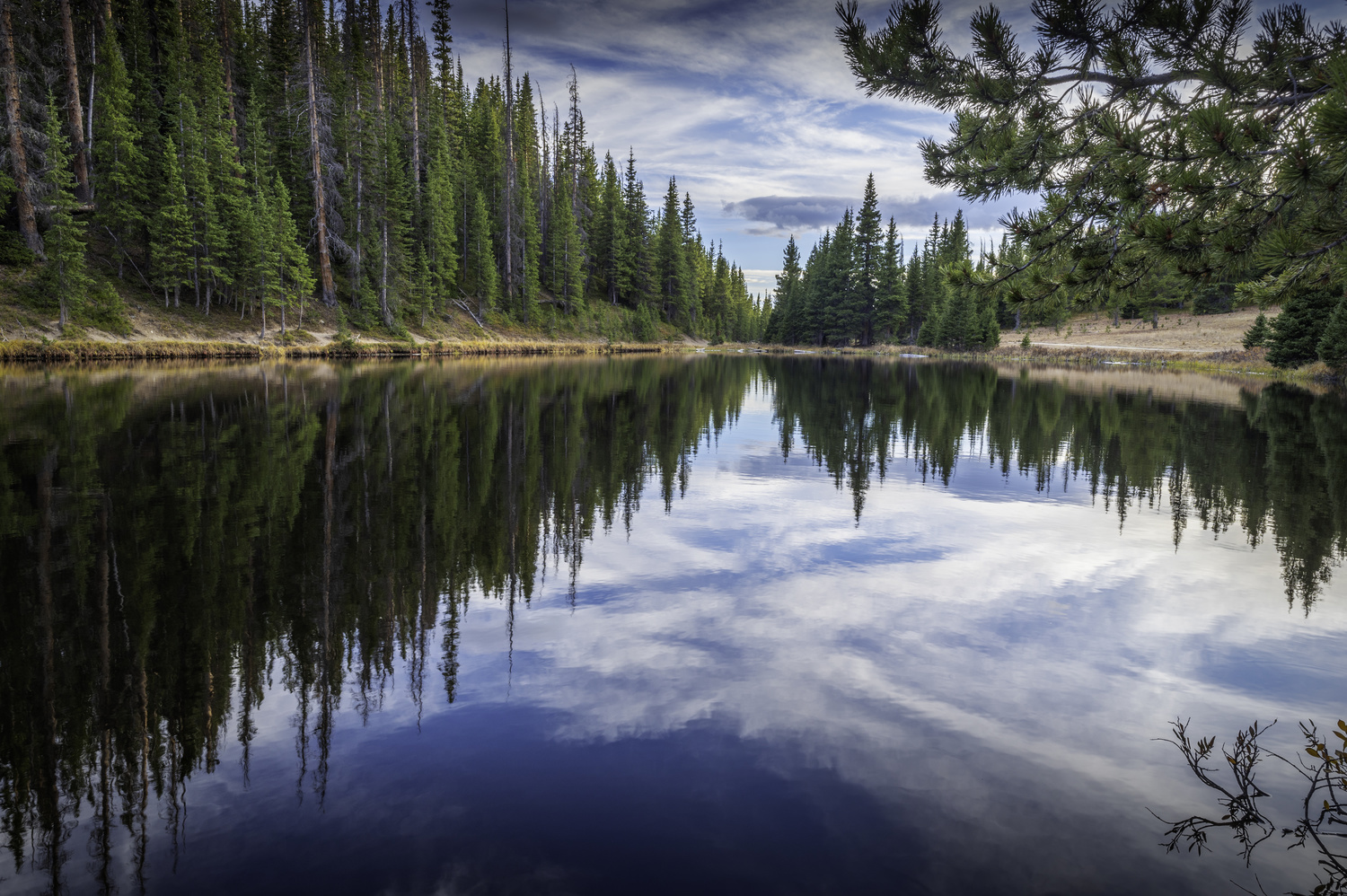 Lake Irene Rocky Mountain National Park by Dave Spates