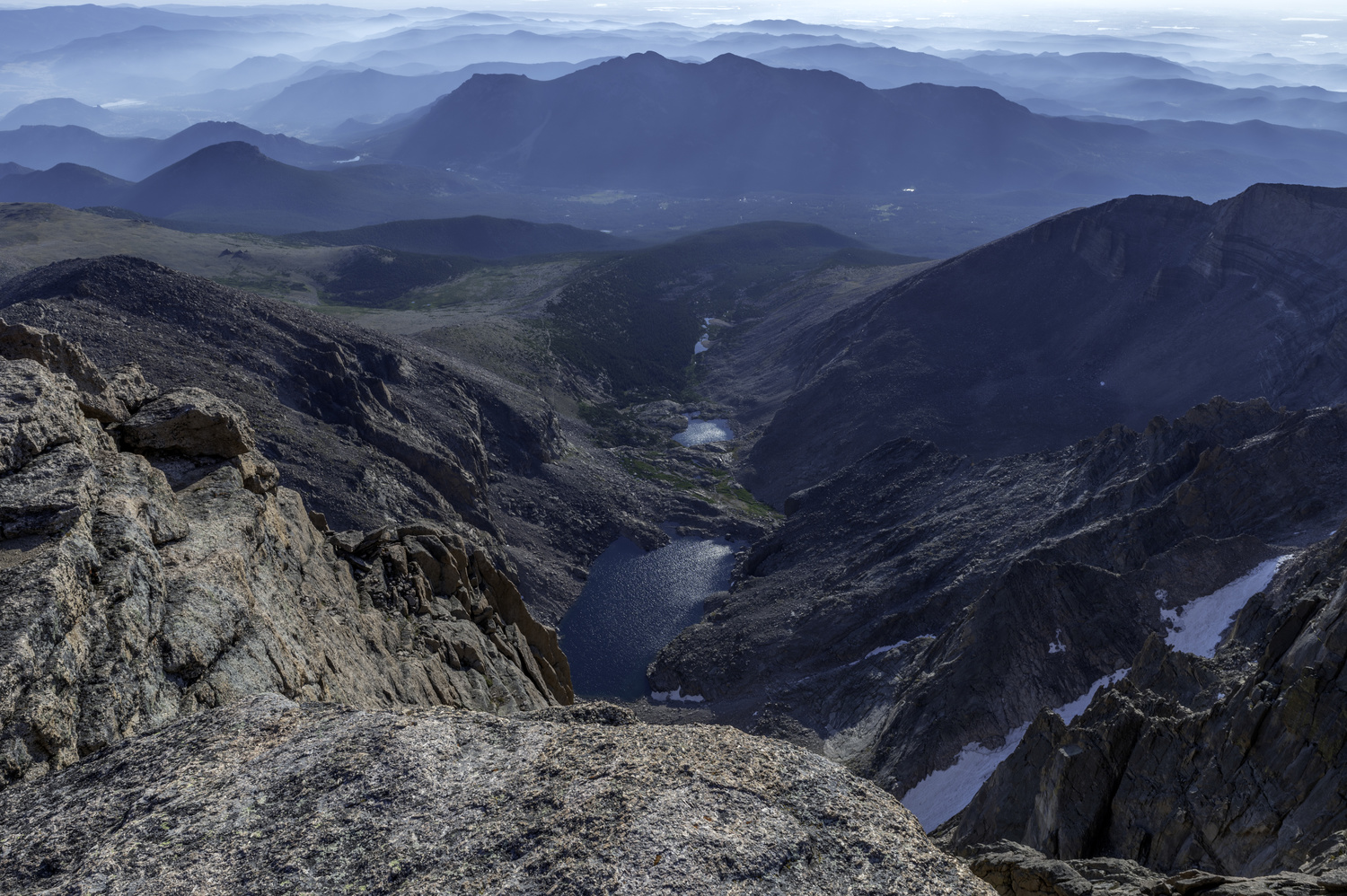 Views from 14,265 ft by Dave Spates