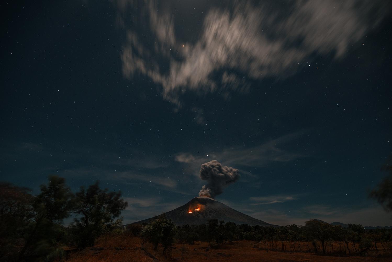 Mt. Agung by Marek Stefech