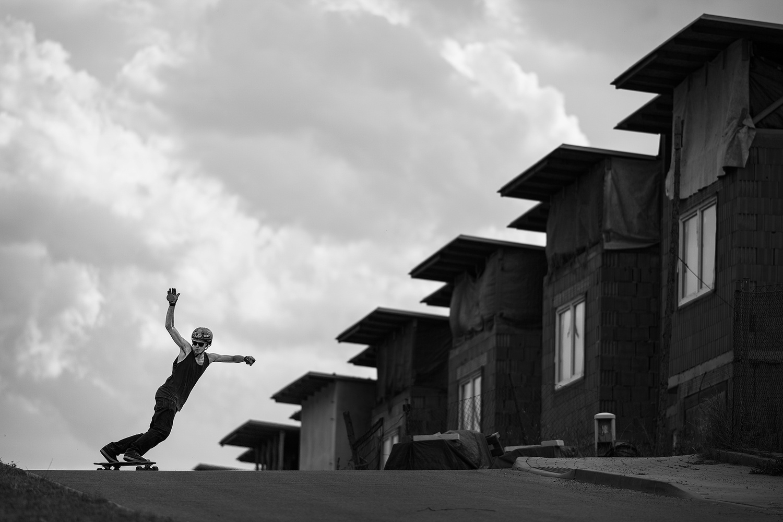 Longboarder by Marek Stefech