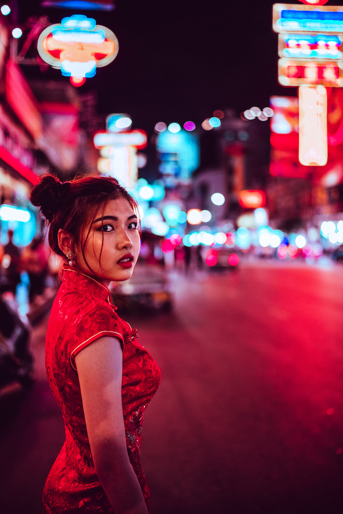 Bangkok Hustle by Marek Stefech