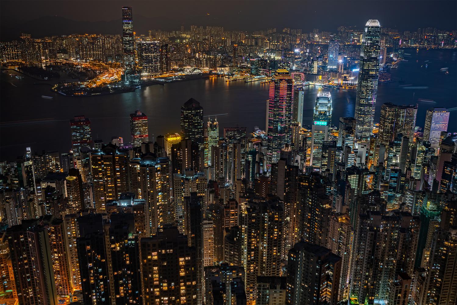 Hongkong by Marek Stefech