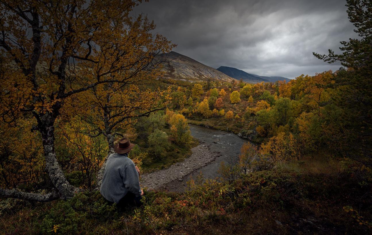 Autumn view by Wim Lassche