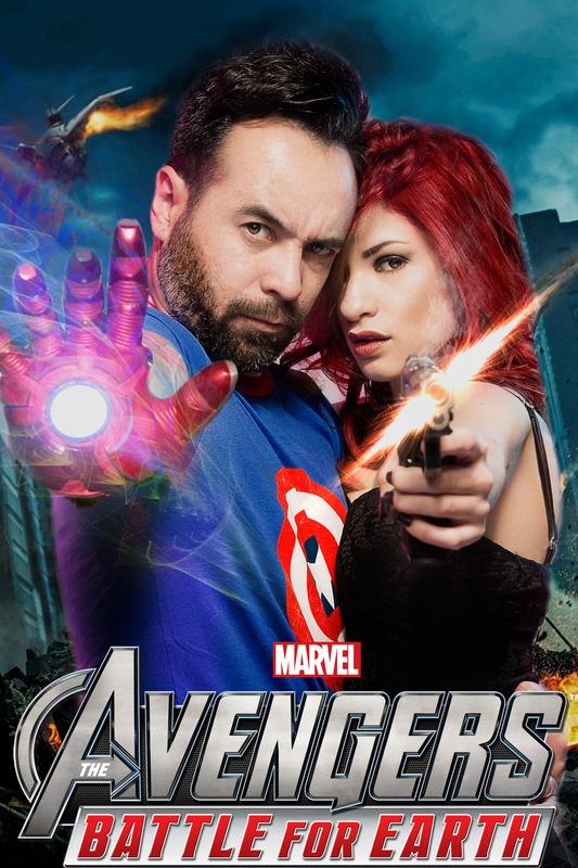 Avenger Fan Composite by Braulio Suarez