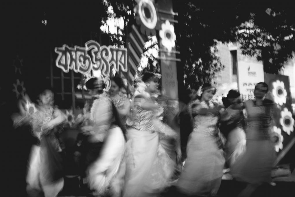 Blur Dancing by Rubayat Habib