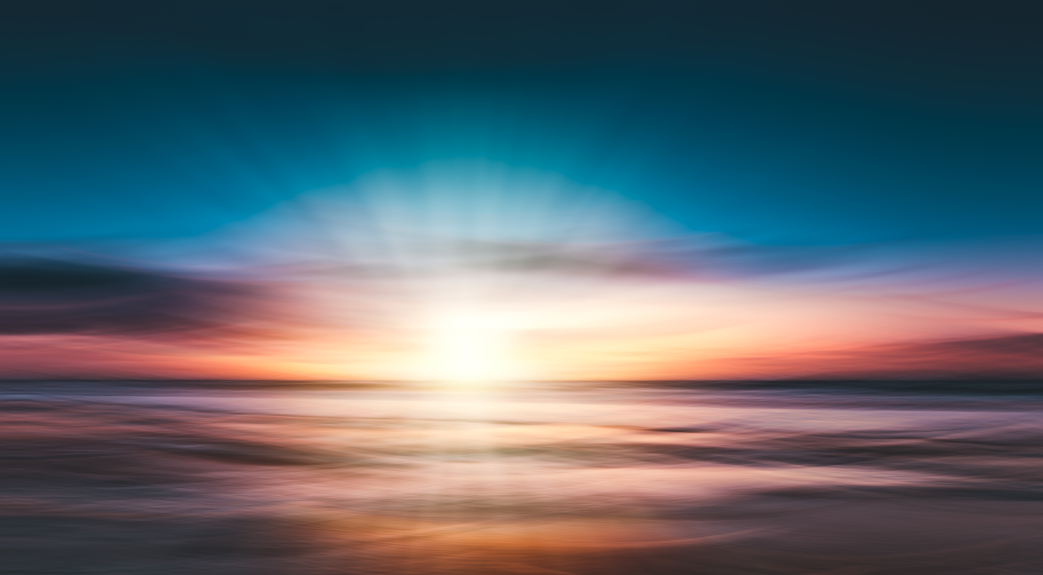 Sunset at the beach by Joost Lagerweij