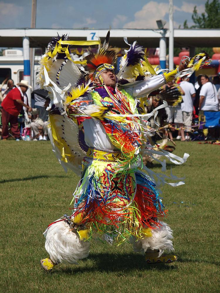 Native dancer by Mark Bucher