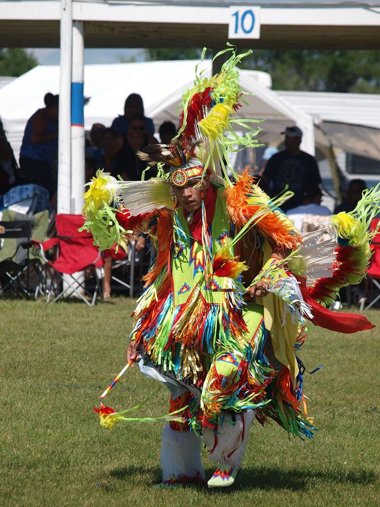 Native Dancer 2 by Mark Bucher