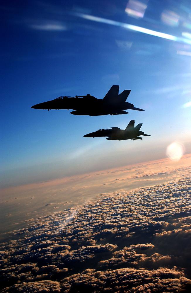 F-18s by Mark Bucher