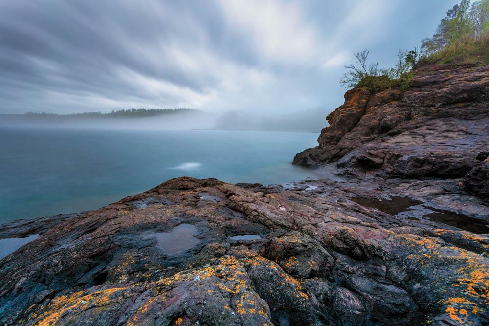 Split Rock River #19 by Todd Higgins