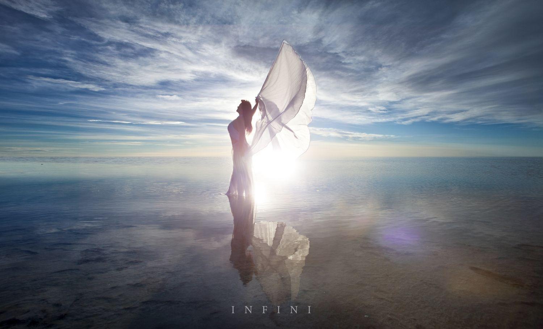 Salt Flats Angel by Dario Impini