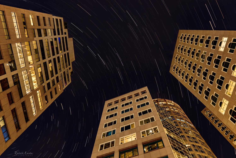 Urban Star Trails by Rakesh Karda