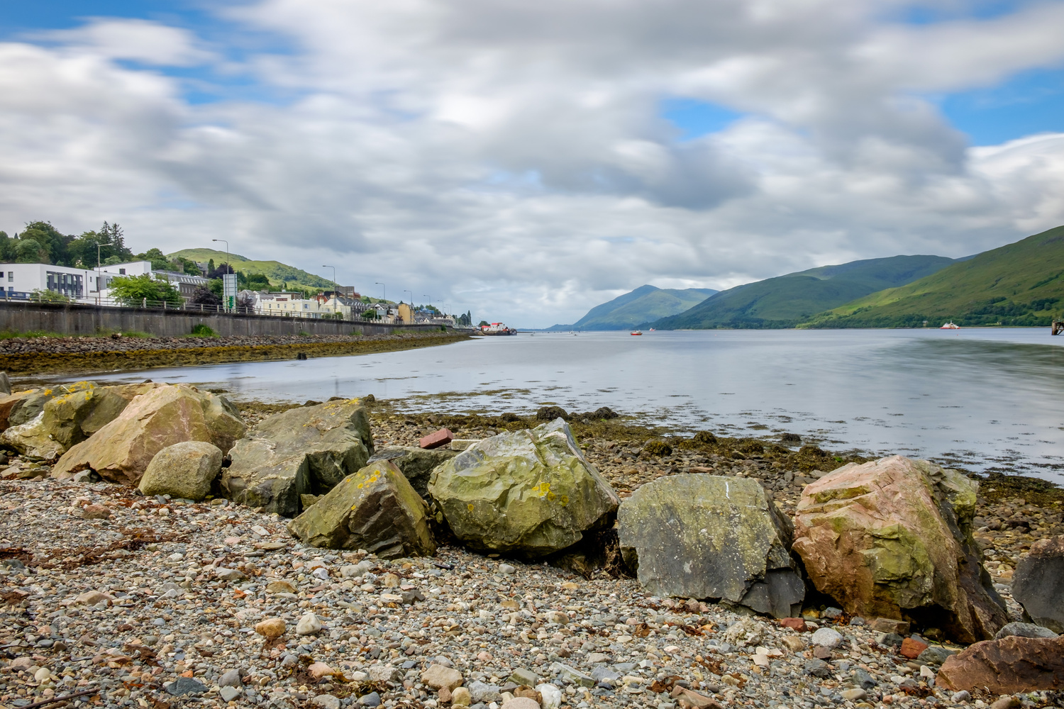 Loch Linnhe from Fort William by Dennis Ros
