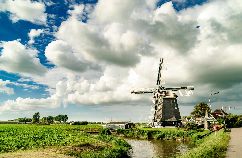 """Polder mill """"De Groenvelder"""" by Dennis Ros"""