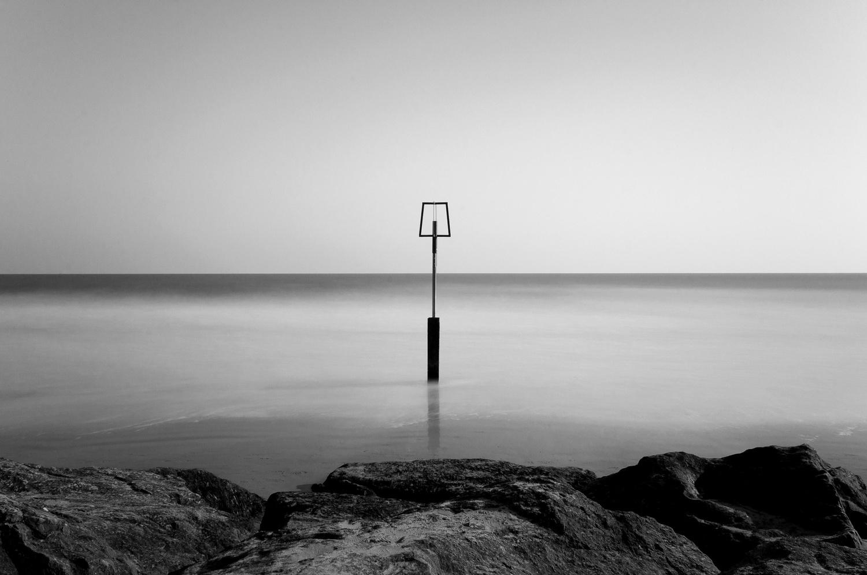 Branksome beach by Heywood Beacon