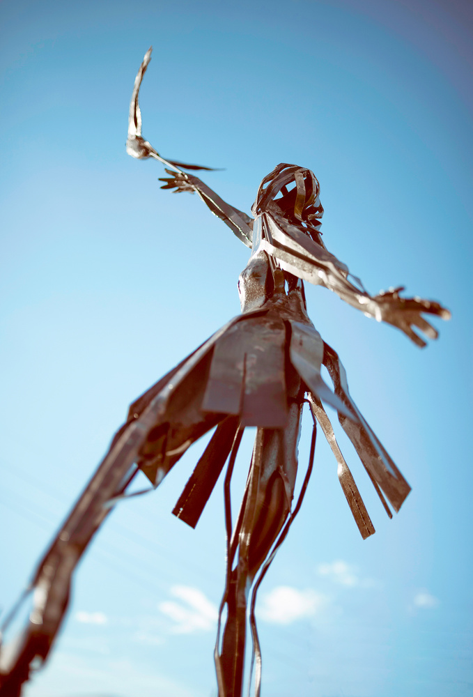Freedom Statue by Timothy Hines