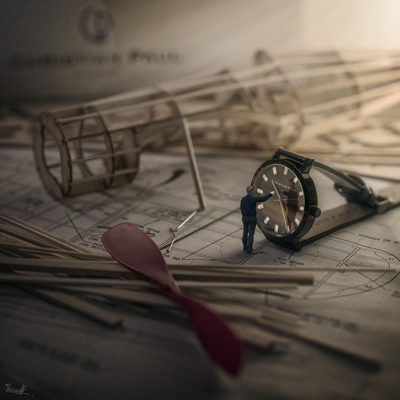 Timepiece by Thomas Brown