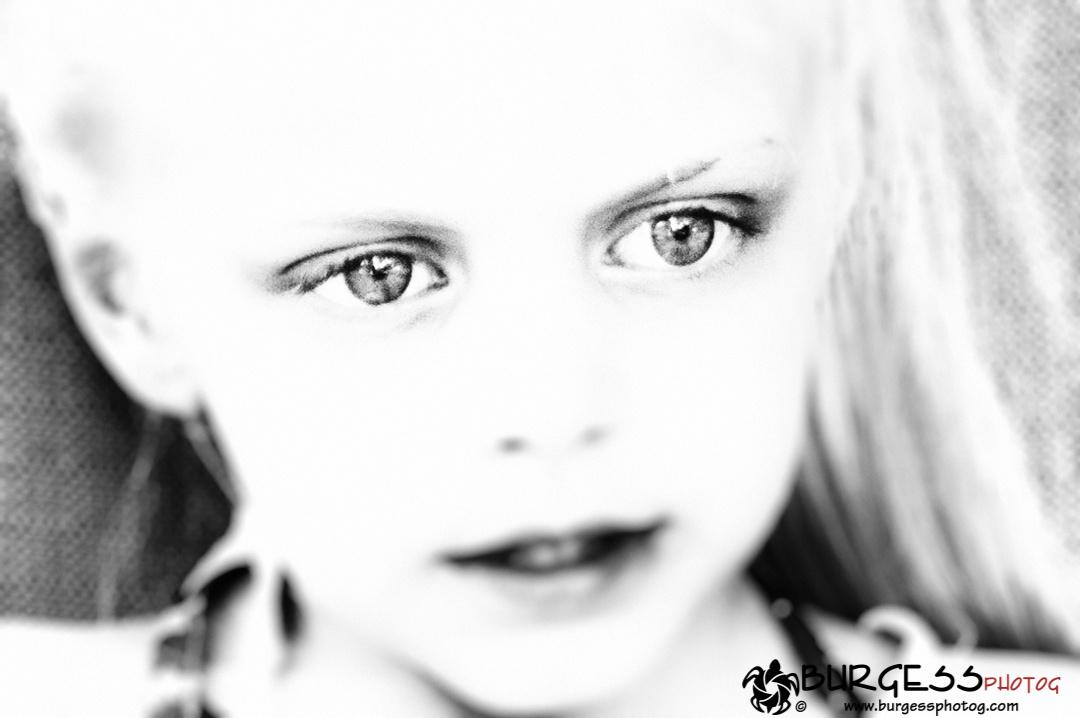 Eyes In Focus by Charles Burgess