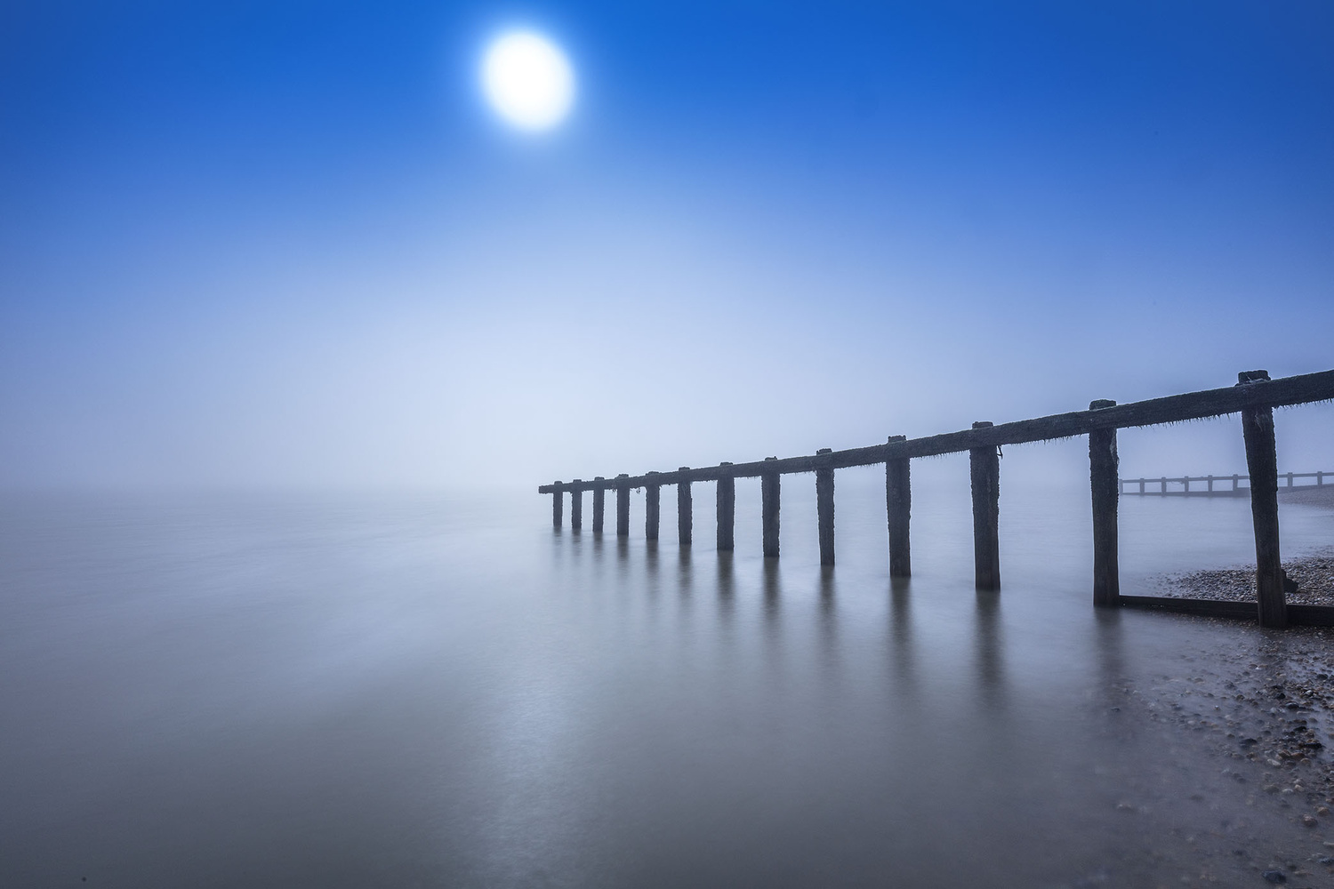 Morning Mist by Roger Davies