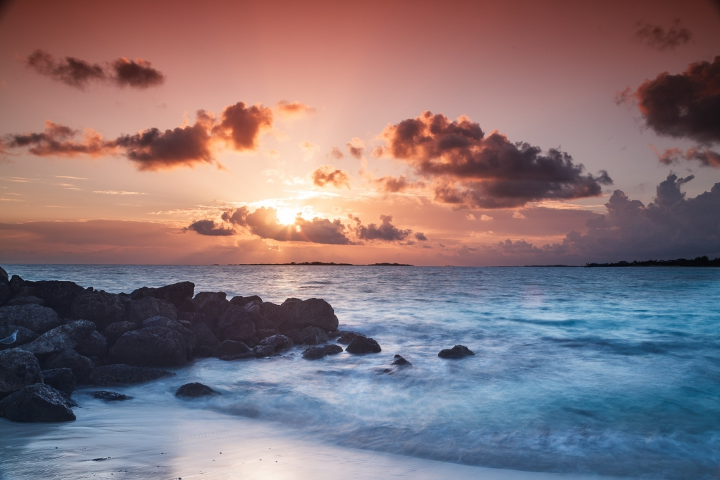 Dawn in Nassau by Bo Bickley