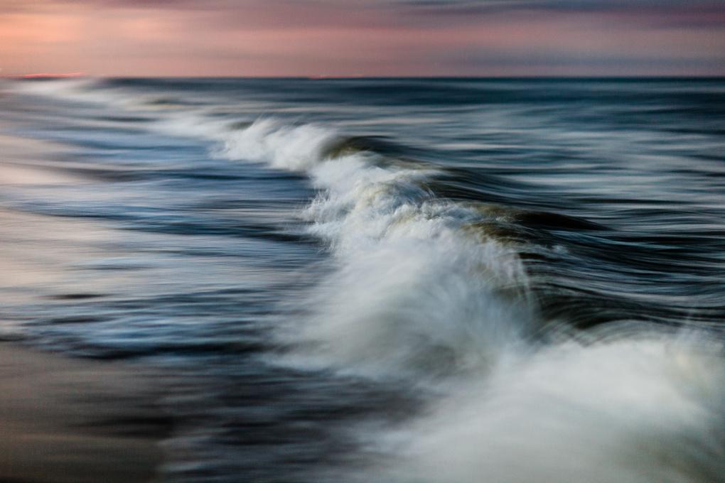 Shore break by Jeremy Clark
