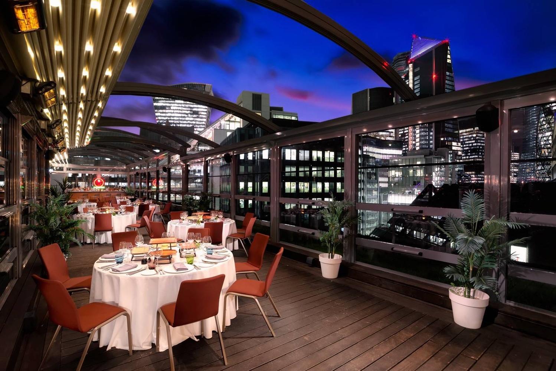 Rooftop terrace by Viktor Kery