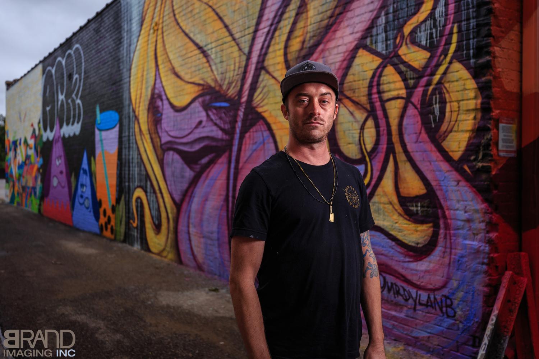 Grafiti Artist by Beau Brand