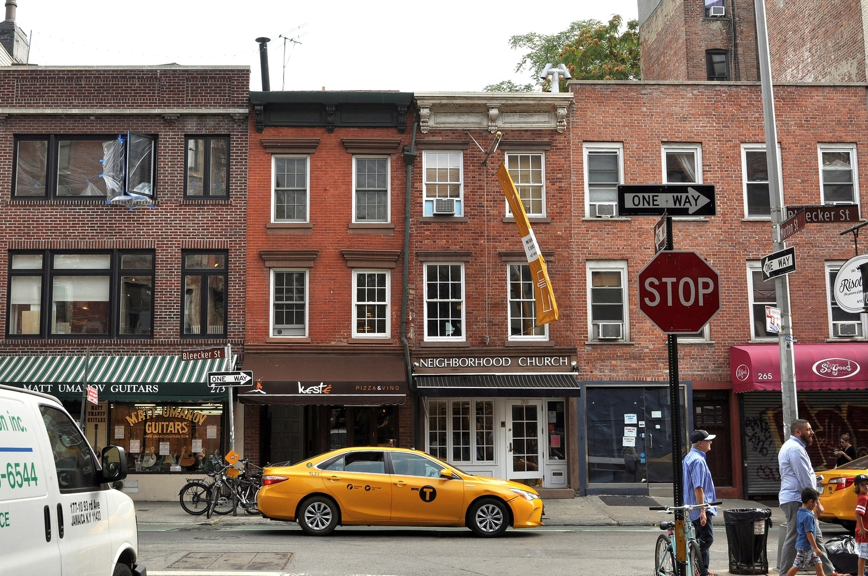 New York Bleecker St. by Bernd Hauptvogel