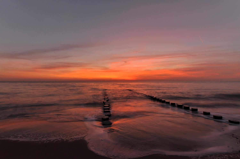 North Sea shore by Bernd Hauptvogel
