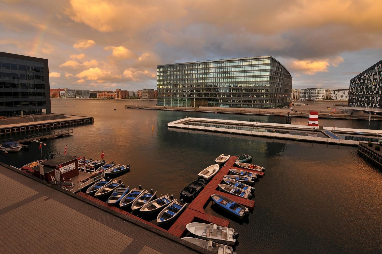 Copenhagen Sydhavnen by Bernd Hauptvogel