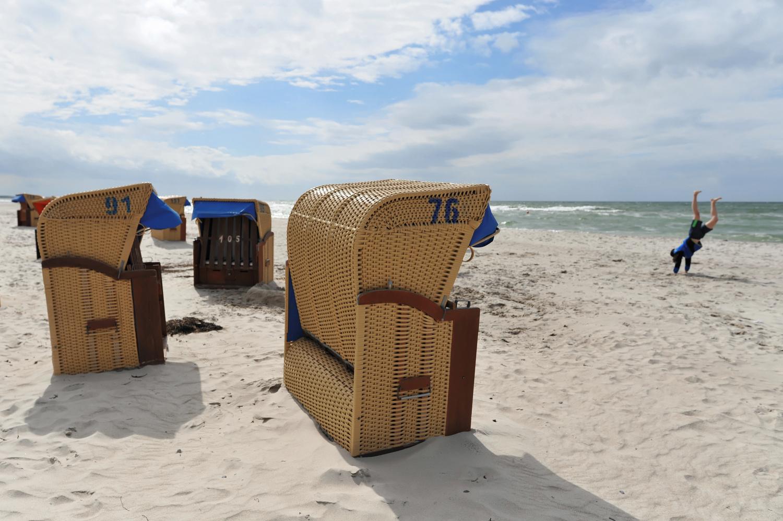 Fun at the beach by Bernd Hauptvogel