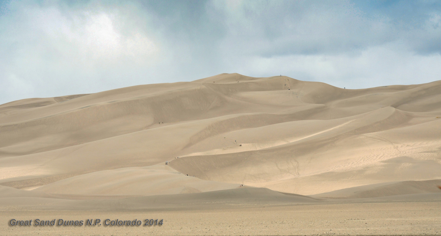 Great Sand Dunes NP, Colorado  by Charles Haacker
